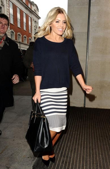 More Pics of Mollie King Knee Length Skirt (1 of 4) - Knee Length Skirt Lookbook - StyleBistro