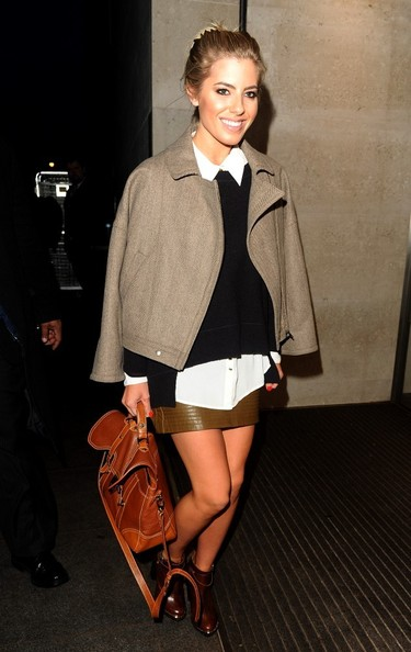 More Pics of Mollie King Wool Coat (1 of 10) - Wool Coat Lookbook - StyleBistro