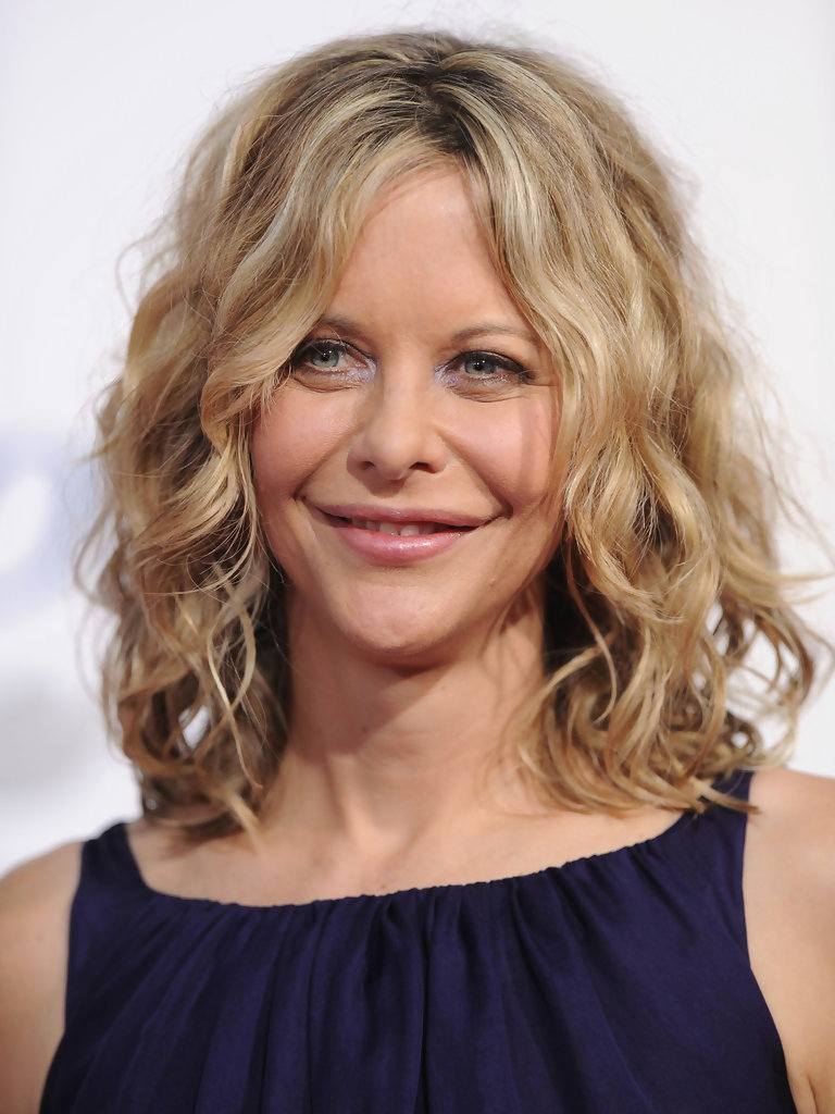 Meg Ryan Hairstyles Front And Back | meg ryan curly