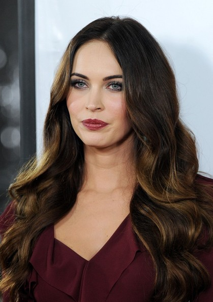 More Pics of Megan Fox Long Wavy Cut (1 of 36) - Long Wavy Cut Lookbook - StyleBistro