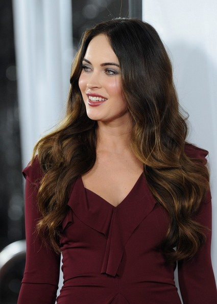 More Pics of Megan Fox Long Wavy Cut (5 of 36) - Long Wavy Cut Lookbook - StyleBistro