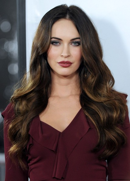 More Pics of Megan Fox Long Wavy Cut (3 of 36) - Long Wavy Cut Lookbook - StyleBistro