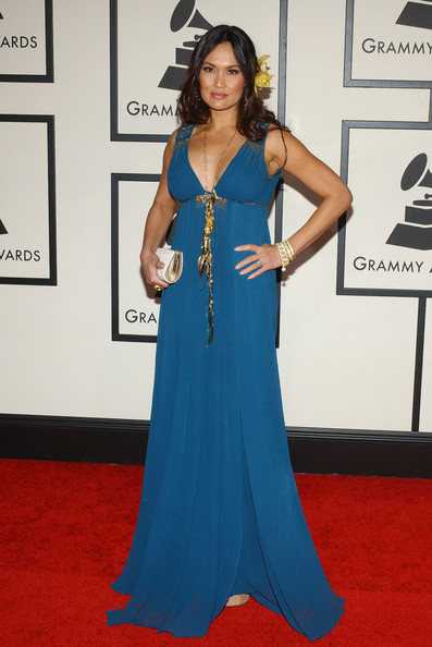 Tia Carrere Empire Gown