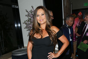 Tia Carrere Off-the-Shoulder Dress