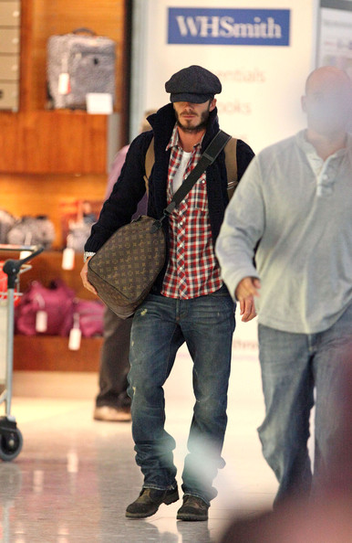 More Pics of David Beckham Work Boots (3 of 11) - David Beckham Lookbook - StyleBistro