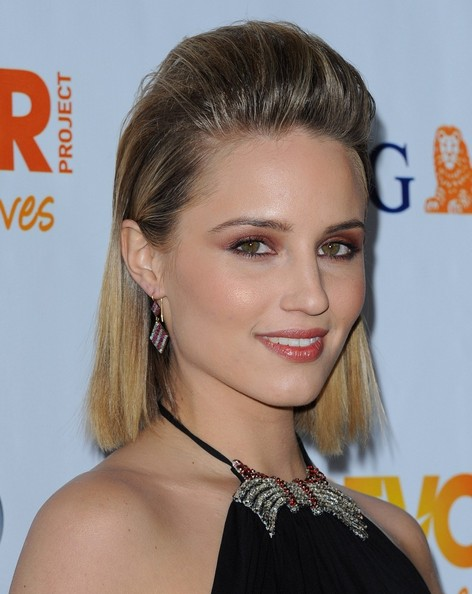 More Pics of Dianna Agron Satin Clutch (1 of 13) - Dianna Agron Lookbook - StyleBistro