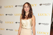 Troian Bellisario High-Waisted Pants