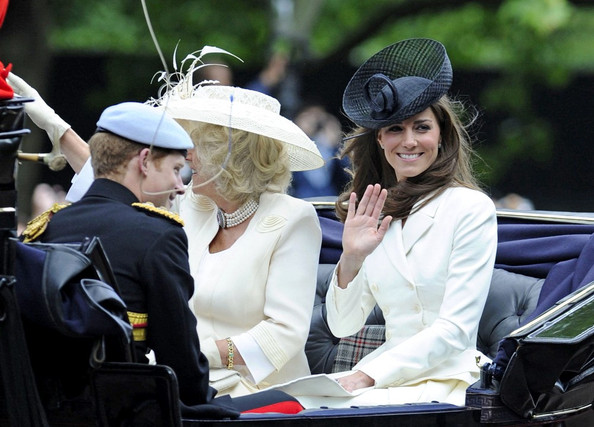 Kate+Middleton in Trooping the Color for the Queen 2