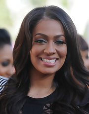 La La Anthony sported blue eyeshadow for a bit of color to her beauty look during the 'Twilight Saga: Eclipse' premiere.