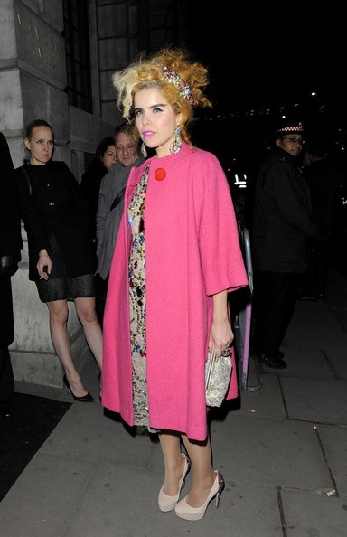 More Pics of Paloma Faith Wool Coat (1 of 6) - Paloma Faith Lookbook - StyleBistro