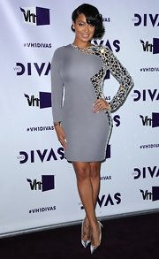 La La Anthony gleamed all the way down to her silver pointy pumps when she attended the 2012 VH1 Divas.