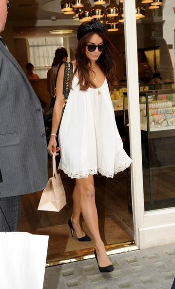 Vanessa Hudgens Baby Doll Dress
