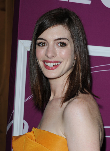 More Pics of Anne Hathaway Buckled Clutch (1 of 13) - Anne Hathaway Lookbook - StyleBistro