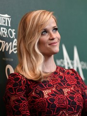 Reese Witherspoon looked sweet and demure with her gentle waves and side-swept bangs at the Variety Power of Women event.