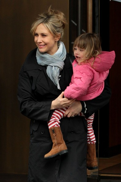 Vera Farmiga Out With Her Family