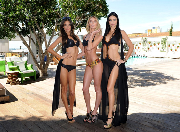 Candice+Swanepoel in Victoria's Secret Angels Launch Swim 2011