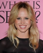 Elin Kling attended the Victoria's Secret What Is Sexy? party wearing her long wavy hair simply styled.