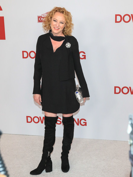 Virginia Madsen Over the Knee Boots