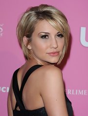 Chelsea Kane wore her adorable 'do in sleek layers with longer side-swept bangs at the 'Us Weekly' Hot Hollywood Style event.