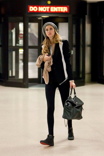 Whitney Port Leather Lace-ups