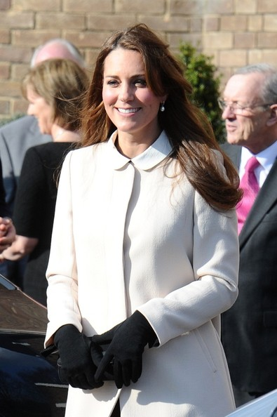 More Pics of Kate Middleton Wool Coat (1 of 27) - Kate Middleton Lookbook - StyleBistro