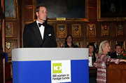 Prince William delivered a speech while wearing a classic black bowtie.