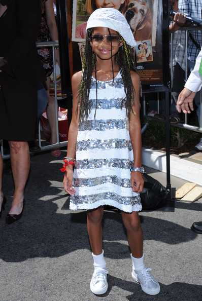 Willow Smith Long Cornrows