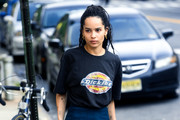 Zoe Kravitz Graphic Tee