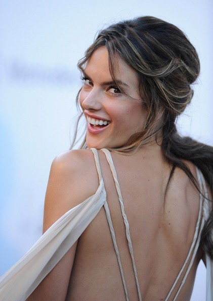 More Pics of Alessandra Ambrosio Evening Dress (1 of 15) - Alessandra Ambrosio Lookbook - StyleBistro