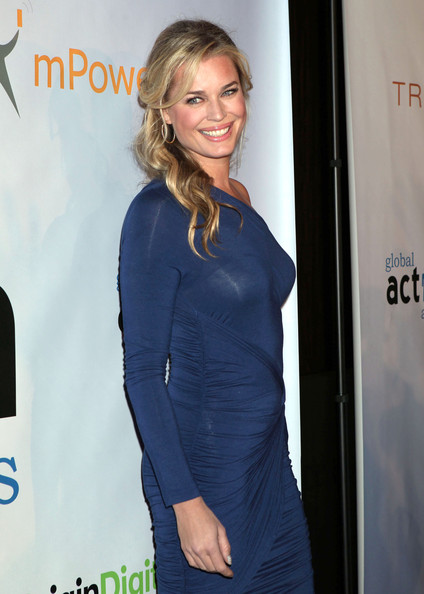 More Pics of Rebecca Romijn One Shoulder Dress (1 of 4) - Rebecca Romijn Lookbook - StyleBistro