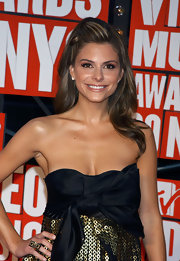 Maria Menounos wore her hair in a sexy half up, half down 'do at the 2009 MTV Video Music Awards.