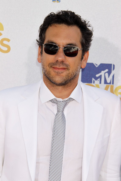 Todd Phillips showed off his rectangle sunglasses while hitting the MTV Movie Awards.