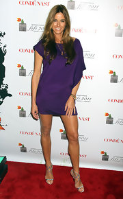 Kelly Bensimon put her best foot forward at the FiFi Awards in silver Lance heels.