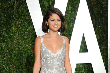 Selena Gomez's Silver 2012 Oscars Party Gown