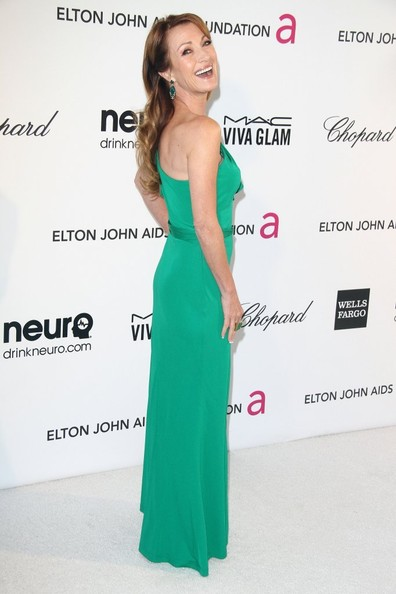 More Pics of Jane Seymour One Shoulder Dress (1 of 6) - Jane Seymour Lookbook - StyleBistro