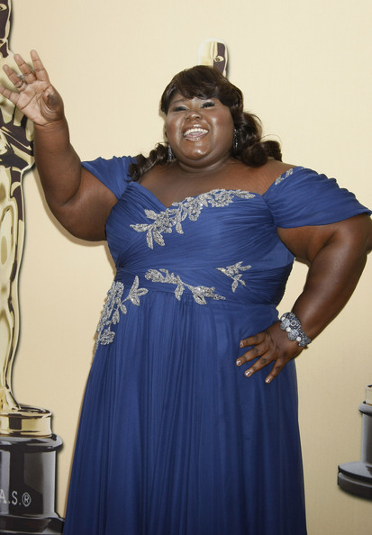 More Pics of Gabourey Sidibe Sequined Bracelet (1 of 5) - Sequined Bracelet Lookbook - StyleBistro