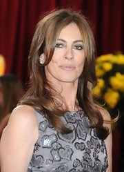 Film director Kathryn Bigelow wears her hair in a long layered cut.