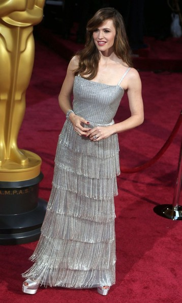 More Pics of Jennifer Garner Beaded Dress (1 of 2) - Jennifer Garner Lookbook - StyleBistro