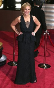 Peplum and lace, oh my! Julia Roberts wore Givenchy to the 2014 Oscars.