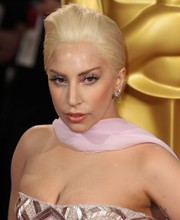 Lady Gaga rocked a sculpted pompadour at the Academy Awards.