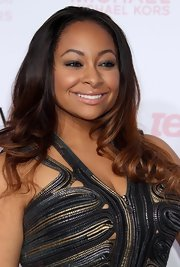 Raven Symone showed off her two-tone curls while hitting the Vogue Young Hollywood Party.