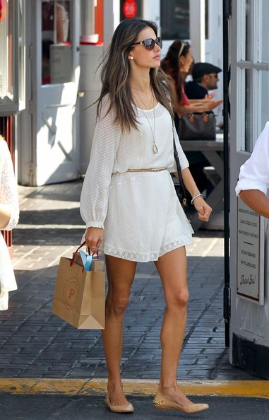 Alessandra Ambrosio Day Dress
