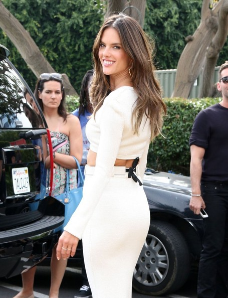 More Pics of Alessandra Ambrosio Crop Top (1 of 19) - Tops Lookbook - StyleBistro