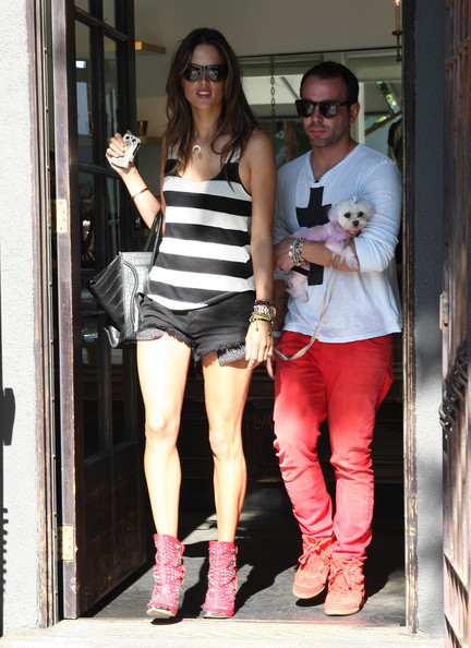 More Pics of Alessandra Ambrosio Ankle boots (1 of 19) - Ankle boots Lookbook - StyleBistro