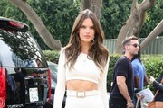 Alessandra Ambrosio Pencil Skirt