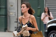 Alexa Chung Suede Tote