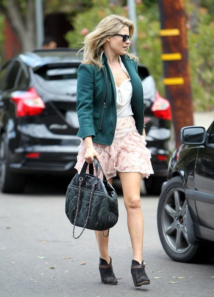 More Pics of Ali Larter Ankle Boots (1 of 23) - Boots Lookbook - StyleBistro