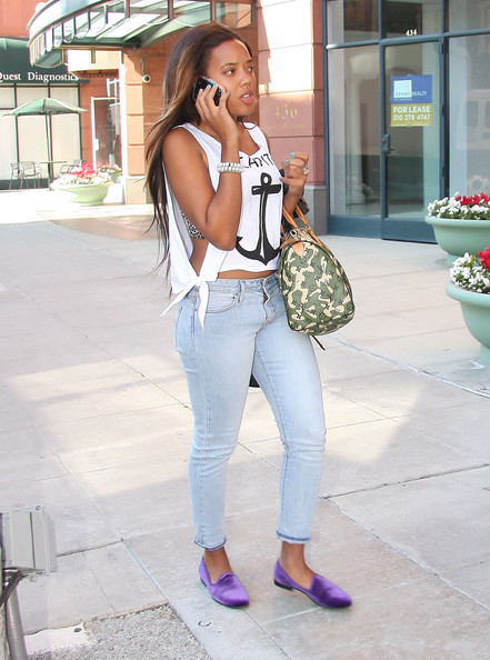 Angela Simmons Smoking Slippers