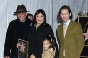 Anjelica Huston and Wes Anderson Photo