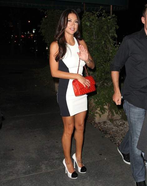Arianny Celeste Cocktail Dress